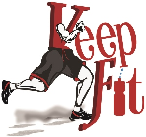 keep fit_decal